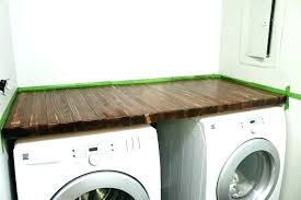 washer dryer countertop countertops for and washer dryer countertop
