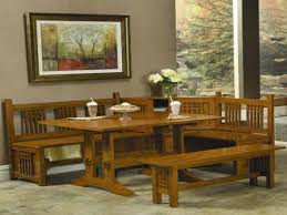 dining table with benches set. image of: corner kitchen table with bench set dining benches