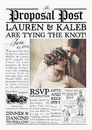 Custom Newspaper Template Wedding Announcements In Newspaper Template Under