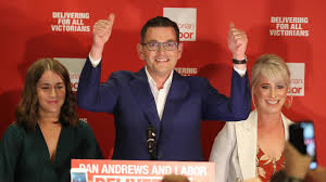 The wife of victorian premier daniel andrews has started blocking journalists on social media as the embattled state leader comes increasingly under fire over melbourne 's stage four lockdown. Victorian State Election 2018 Live Coverage Labor Set To Win 61 Seats
