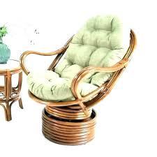 rattan swivel rocking chair wicker rocker cushions cushion patio