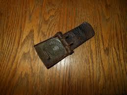 ww2 german wehrmacht heer em nco leather belt buckle and tab 1941 good
