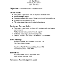 resume customer service sample resumes objectives for customer service resume examples objective statements administrative assistant sample resumes customer service