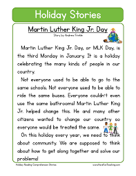 Martin Luther King Jr. Worksheets | Have Fun Teaching