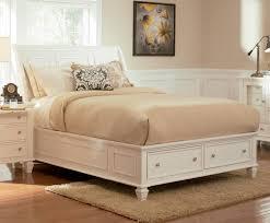 white king storage bed. Brilliant Bed Sandy Beach White King Sleigh Storage Bed Throughout E