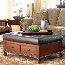ottoman coffee table charming leather coffee table ottoman with stunning storage coffee table ottoman coffee tables