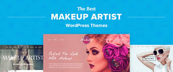 makeup artist wordpress themes
