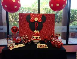 patricia 1st birthday minnie mouse