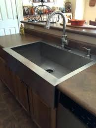 Elkay Celebrity DropIn Stainless Steel 43 In 4Hole Triple Bowl Home Depot Kitchen Sinks Top Mount