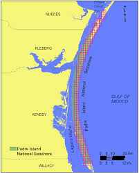 Shoreline Grid For Padre Island National Seashore Download