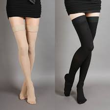 <b>Hot sale Varicose Veins</b> Stockings <b>Thigh</b> High 25 30 mmHg Medical ...