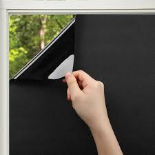 Kinlo Fensterfolie Blickdicht Sichtschutzfolie Selbstklebend