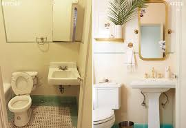 Cheap Bathroom Makeover Custom Brady Gives A Refresh To His Vintage Bathroom Emily Henderson