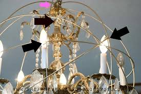 how to create a crystal orb chandelier like restoration hardware step 5 vintage romance style