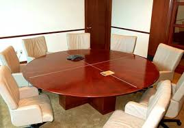 gorgeous round conference table round and oval conference room tableshardrox