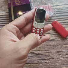 Điện Thoại Siêu nhỏ Mini N3310 màu Đỏ (Mã SP: BM10) – nhỏ gọn, âm thanh cực  to, kết nối SmartPhone – pin trâu – nghe nhạc mọi nơi - P699032