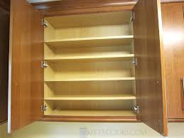 extra shelves for kitchen cabinets innermost cabinet with extra shelves blog adding extra shelves to kitchen cabinets