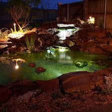 koi pond lighting ideas. Algreen Pond Kit With Solar Lighting Wayfair Koi Ideas