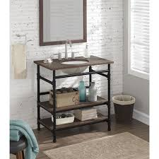 industrial bathroom vanity. 9469aebc6e6a8be6a ba9cc4ac2d 43 stylish industrial designs for your home from bathroom vanity h