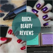 beauty quick makeup reviews 3 opi vivo etc