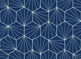 art deco tile vinyl flooring