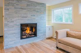 fireplace natural stone veneer tile around gas insert architecture and interior design how to