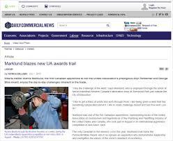 Pipeline Welding Apprentice Canadian Apprentice Wins Prestigious Award At Ua Competition Daily