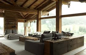 Modern rustic interior design Natural Modern Rustic Modern Interior Design Bedroom With Rustic Houses Contemporary Chalet With Rustic Atmosphere By Melina 16 Euglenabiz Modern Rustic Modern Interior Design Bedroom With Rustic Houses