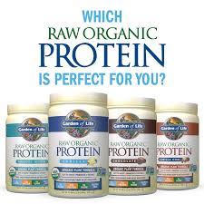 garden of life raw organic protein vanilla 22 0oz 1 lb 6 oz 624g powder com