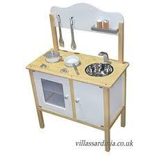Kidzmotion La Mini Cuisine Wooden Pretend Play Kitchen White B01fqme22i