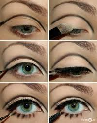 make up inspired by the 60s eye make up ideas this looks