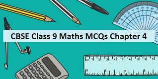 mcq questions for class 9 maths ncert