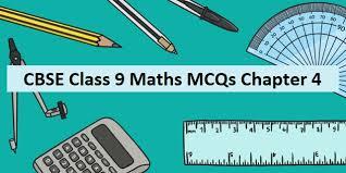 mcq questions for class 9 maths ncert
