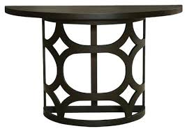 half round accent table half console table half moon accent table amazing best model table nice