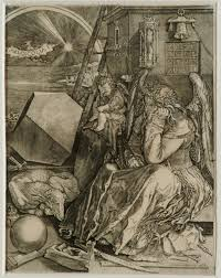 melencolia i by albrecht dürer from the young dürer drawing the figure exhibition the courtauld gallery