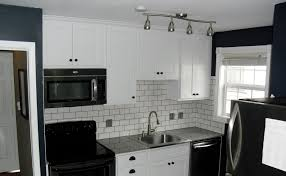 Kitchen Tiled Walls White Kitchen Black Tiles Modern Kitchen Design Dark Grey Floor