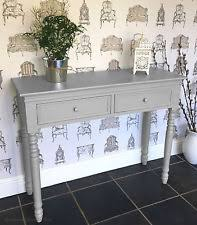 hallway entrance table. Dove GREY Belgravia Style CONSOLE TABLE / Hall Table Shabby/chic Hallway Entrance N