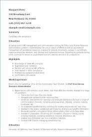 Human Resources Resume Samples Human Resource Assistant Cover Letter