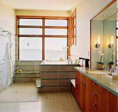 contemporary wall sconces bathroom. Seattle Japanese Soaker Tub With Incandescent Wall Sconces Bathroom Contemporary And Clear Glass Shower Sconce A