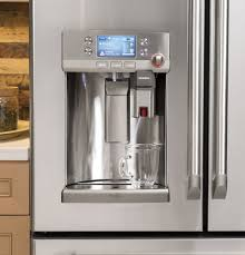 ge profile refrigerator with keurig. Interesting Keurig GE Caf 278 CuFt FrenchDoor Refrigerator With Keurig KCup Brewing System For Ge Profile With