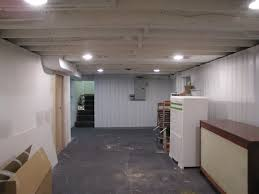 house dash home basement remodel painting the exposed ceiling white