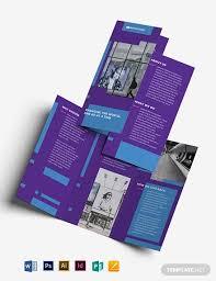 Best Brochure Templates 31 Best Advertising Brochure Templates Word Psd Ai
