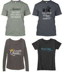 In The Shirt Sing Salon Shirts Now Available The Smule Sing App Community