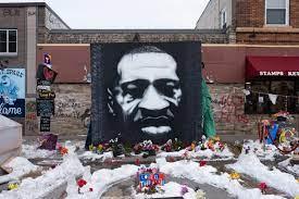 The Artist Behind A George Floyd Mural ...
