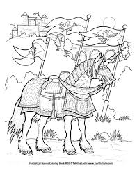Unicorn Coloring Pages For Adults Battle