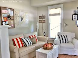 Nautical Home Decor Fabric Coastal Furniture Ideas For Living Room With Light Green Fabric