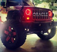 jeep jk with oracle lighting