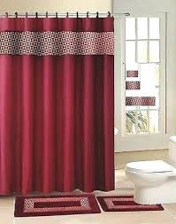 shower curtains red full size of shower shower curtain rings fresco burdy set bathroom shower curtain