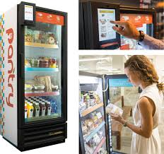 Vending Machine Fridge Awesome Byte Foods Inc Plans To License Smart Fridge To Vending Operators