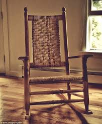 an empty rocking chair is seen as a bad superstition by the irish who believe it